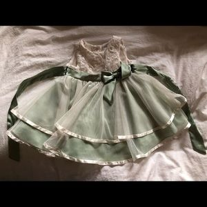 Rare editions elegant toddler dress